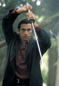 Highlander - The Series snapshots with the Duncan sword