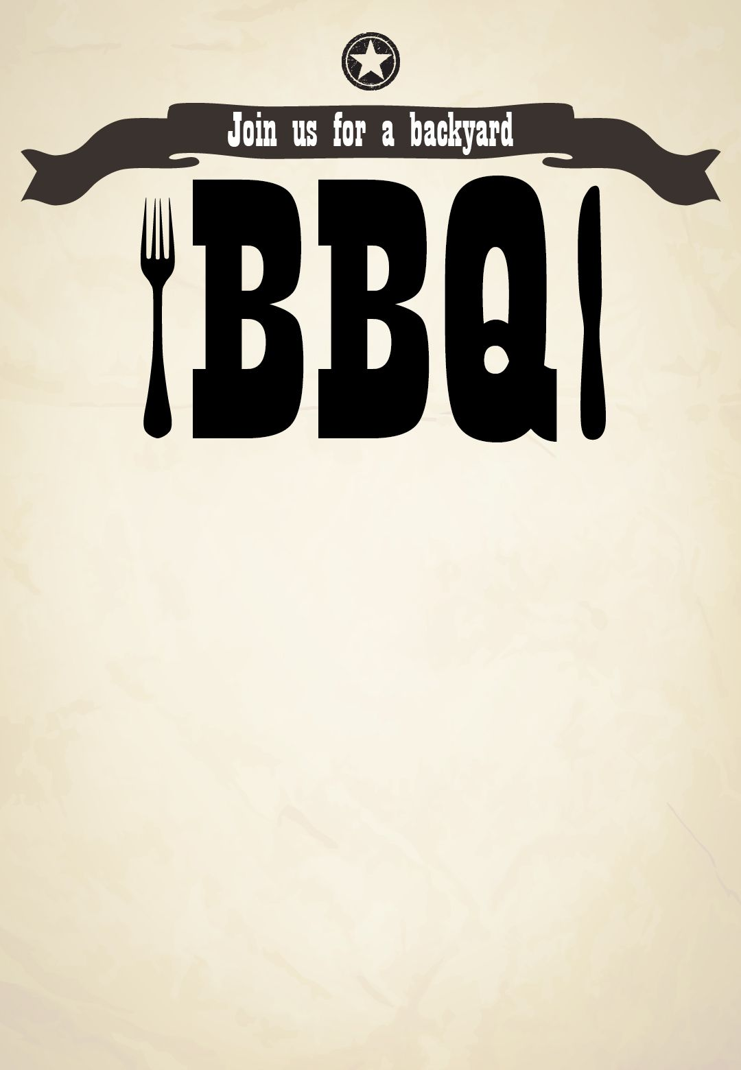 bbq  invitation free printable join us for a backyard bbq