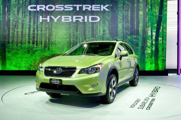 Subaru presenta el XV Crosstrek Hybrid en el Salón de Nueva York 2013