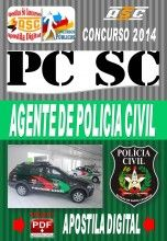 Apostila Concurso Pc Sc Agente De Policia Civil 2014 Novo Concurso