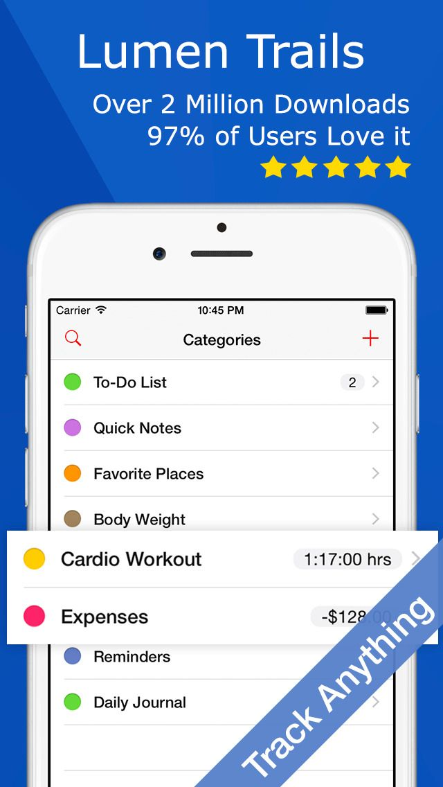 Lumen Trails Daily Organizer & ToDo List on App Store