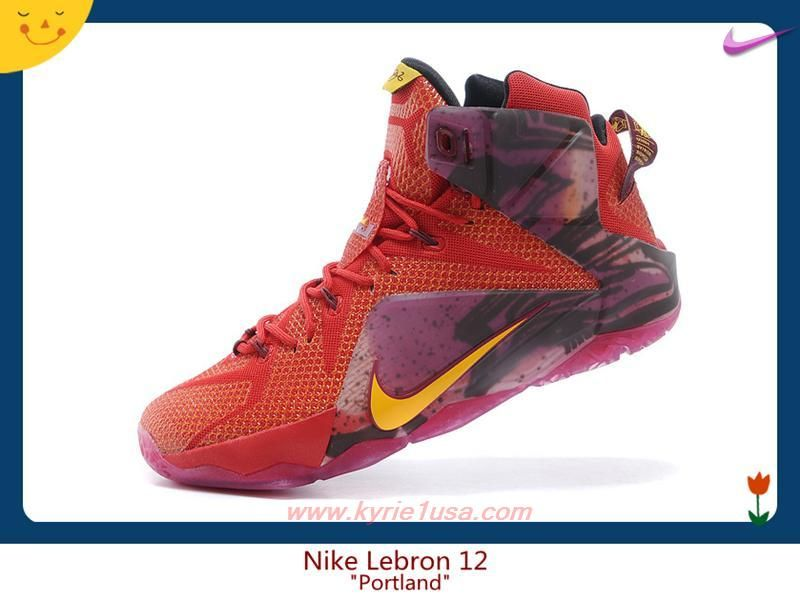 outlet store 5f581 7281d China RedPurple Nike Lebron 12