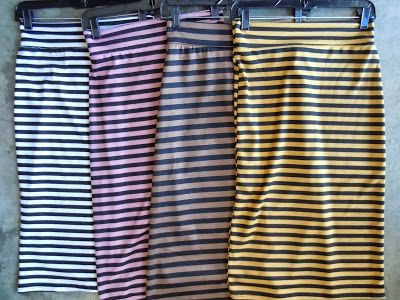 Stripes for Days with the Sister Moses Pencil Skirt.