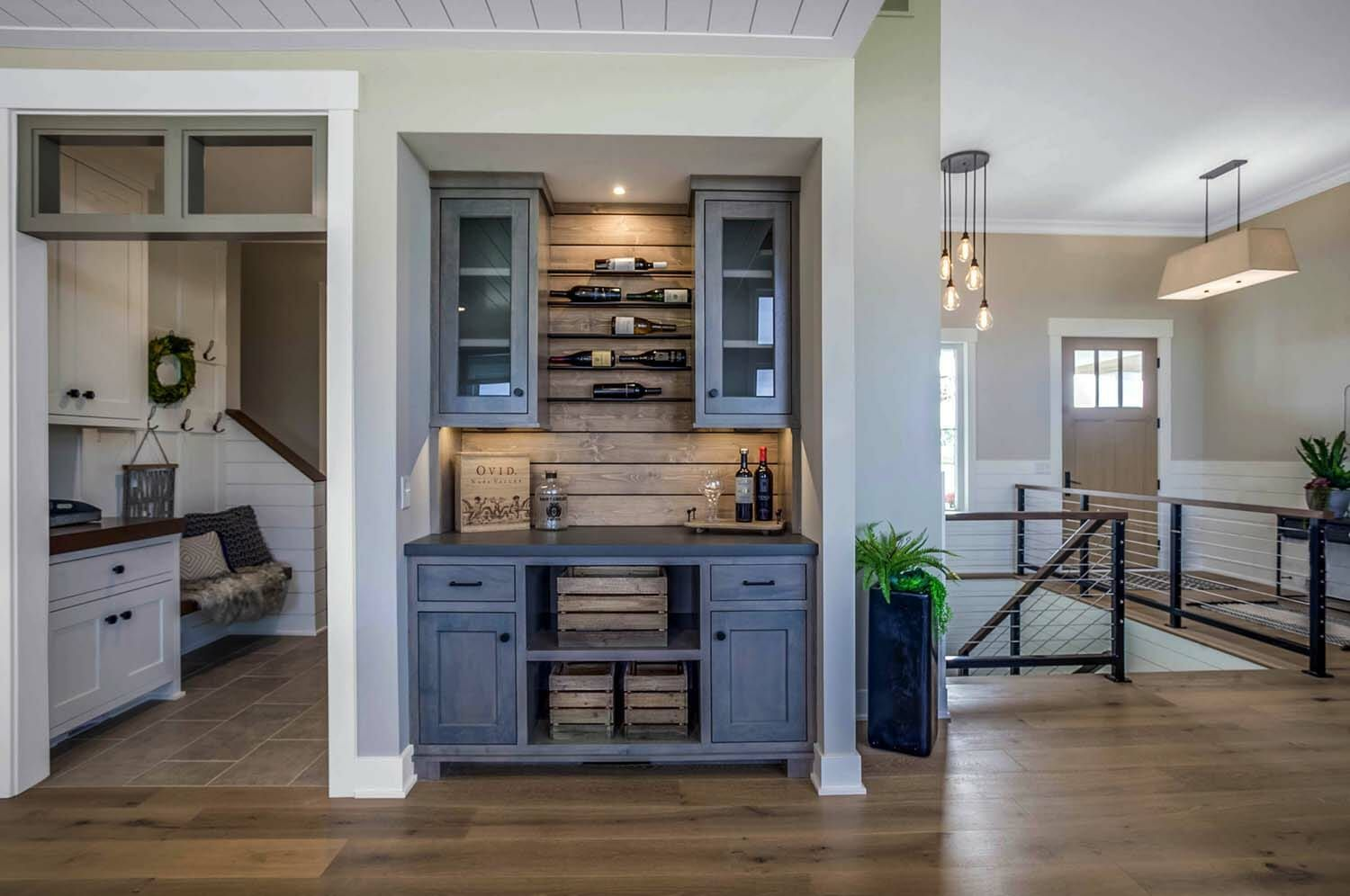 Modern eclectic farmhouse with delightful design features