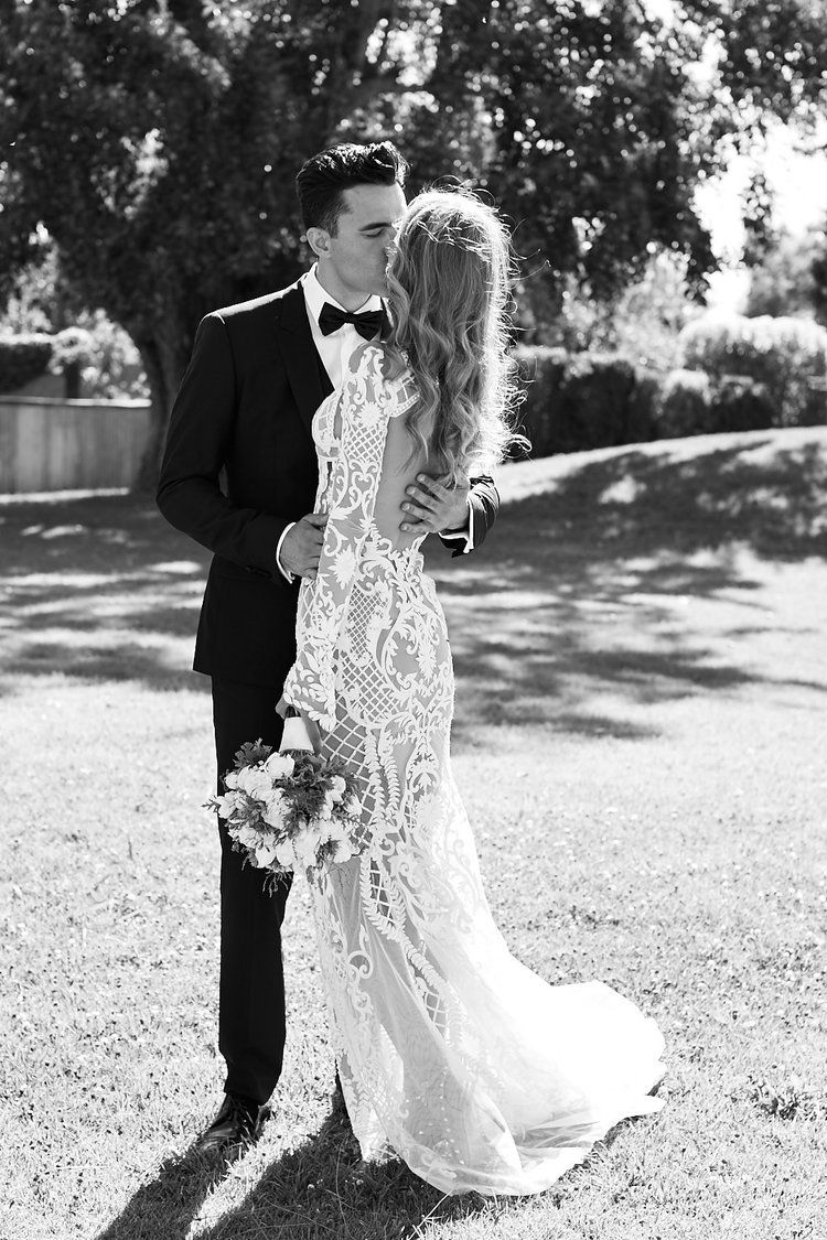 J Aton Couture Stones Of The Yarra Valley Wedding By Lost In Love Photography Winery Wedding Dress Wedding Dress Couture Modest Wedding Gowns