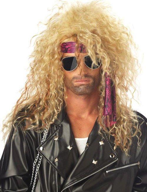 19 95 Aud Heavy Metal Rocker Blonde 1980s Hard Rock Band Men