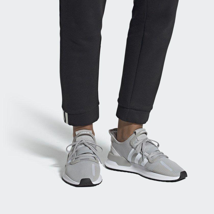 U_Path Run Shoes Light Solid Grey / Cloud White / Core Black ...