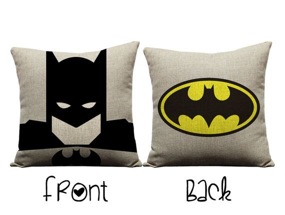 batman pillow  super hero  batman  justice league
