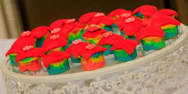 Cbc Sofra طريقة تحضير جاتوه قلوب قوس قزح سالي فؤاد Recipe Cake Desserts Blondies
