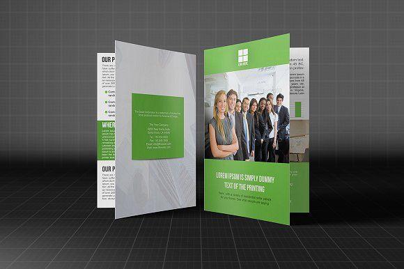 Brochure Bifold Template by Madhabi Studio on @creativemarket