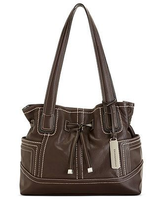 Tignanello Handbag Macy S Exclusive Drawstring Per Handbags Accessories