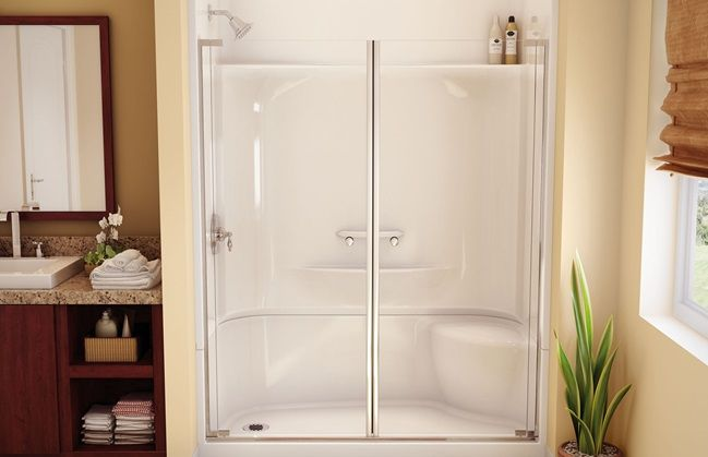 Aker Kds 3060 Rectangular Shower Large Top Corner Shelves Wide