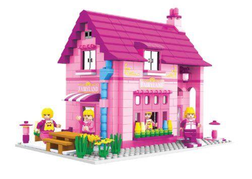 Classroom Imagine BricTek Building Block Construcrtion Toy Brick Girl School