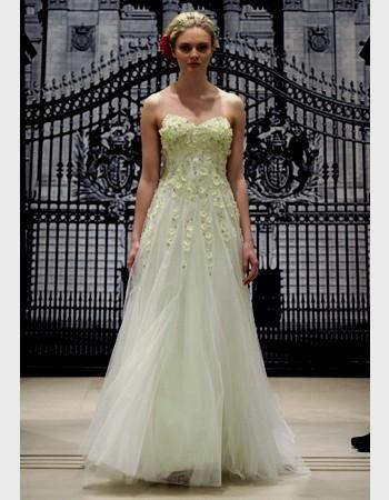 pale green wedding dress Naf Dresses   My wedding dress ...