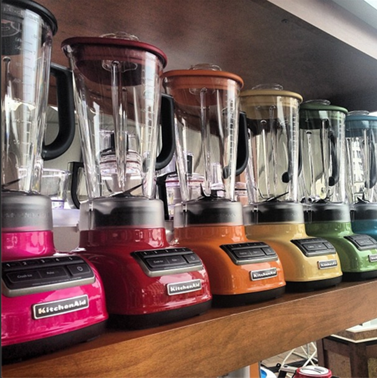 Our New Diamond Blender Comes In A Wide Array Of Colors