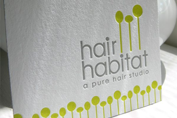 Brand id and business card design by inkwit for hair habitat brand id and business card design by inkwit for hair habitat syracuse ny reheart Choice Image