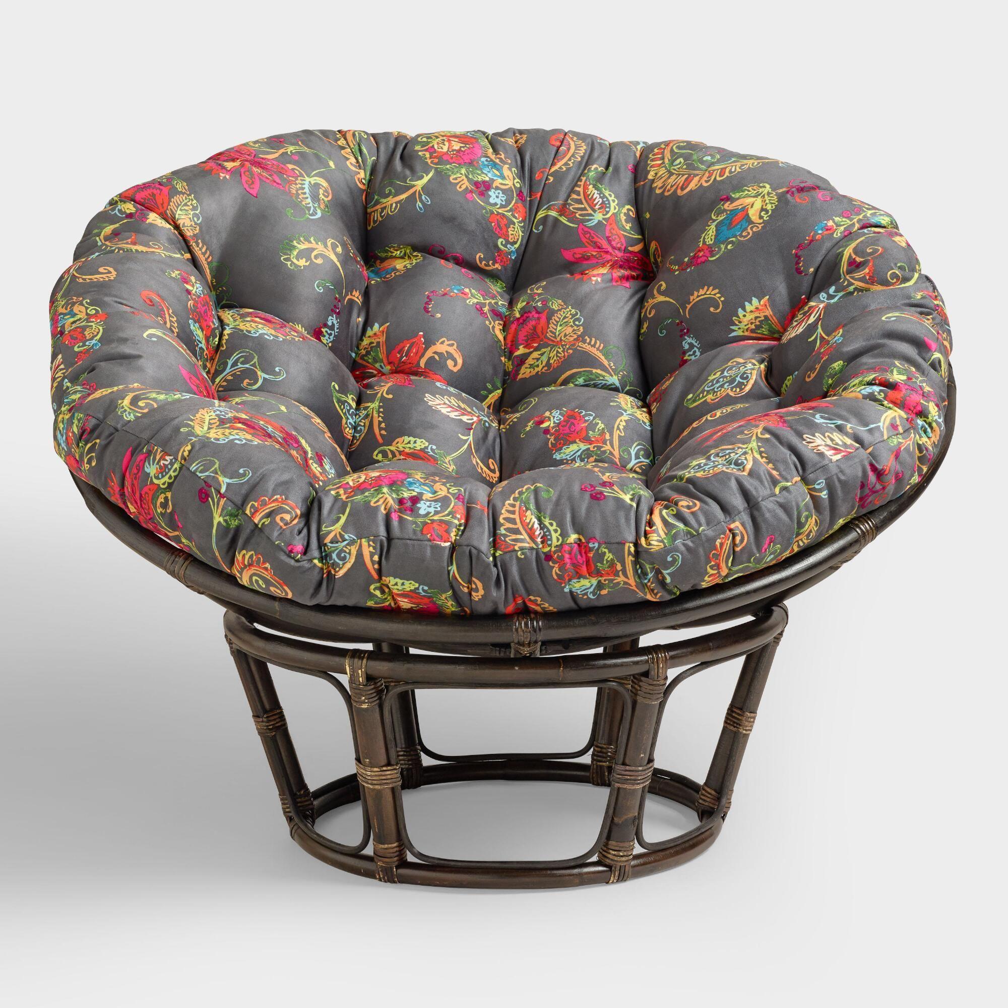 Antigua Micro Suede Papasan Chair Cushion Papasan Chair Papasan Chair Cushion Papasan Chair Frame