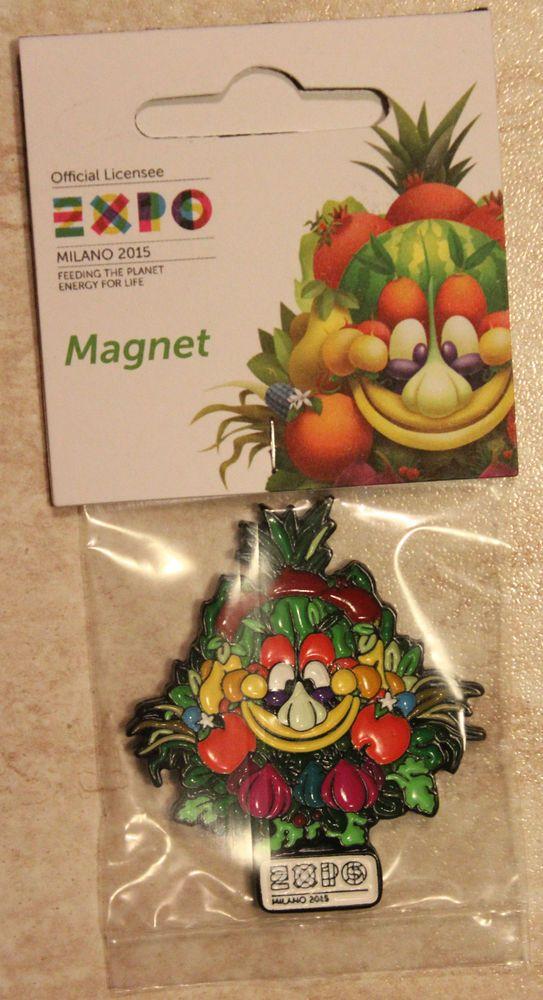 MAGNETE MAGNET IN METALLO SMALTATO SAGOMATO FOODY EXPO ...