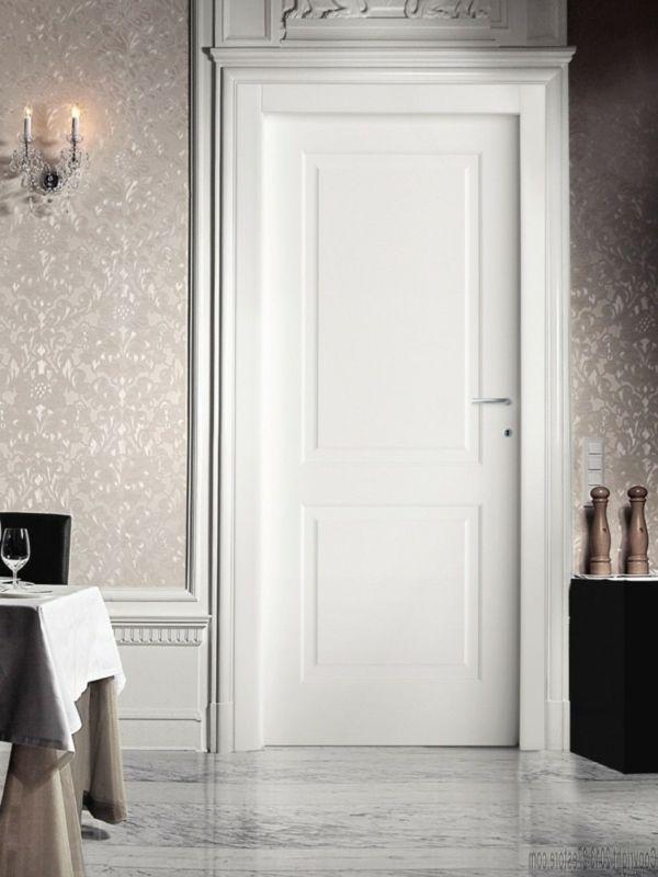 Puertas de madera decoraci n de la habitaci n for Puertas de madera blancas
