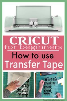 How To Use Transfer Tape on Cricut Projects