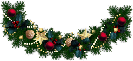 Decorated-Christmas-Garland-02.png (464×215)