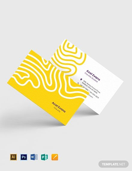 Creative Student Business Card Template Word Doc Psd Apple Mac Pages Illustrator Publisher Graphic Design Business Card Business Card Graphic Student Business Cards