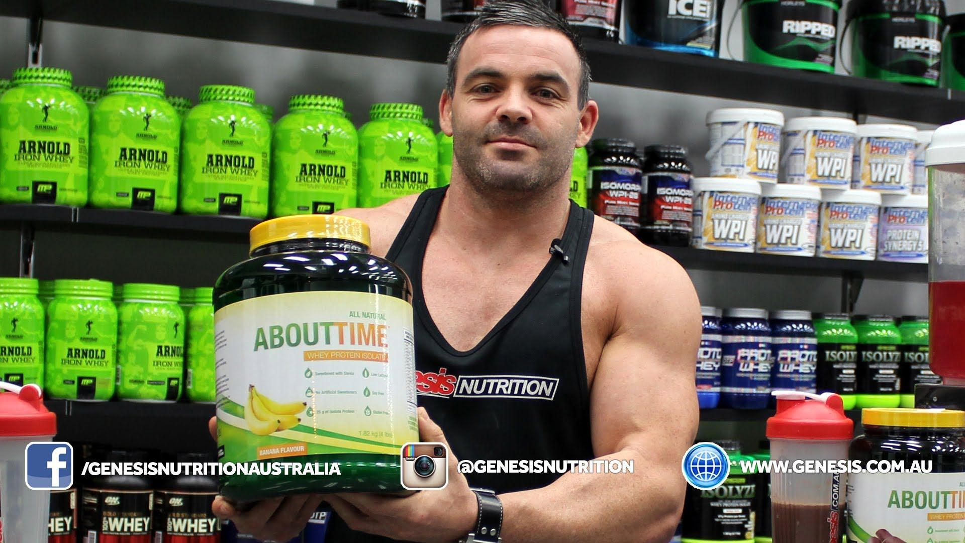 About Time WPI Review Genesis.com.au - Natural Whey Protein Isolate. Shop online 24/7 with the Lowest Prices! Australian owned and Operated Shipping Nationwide Daily.