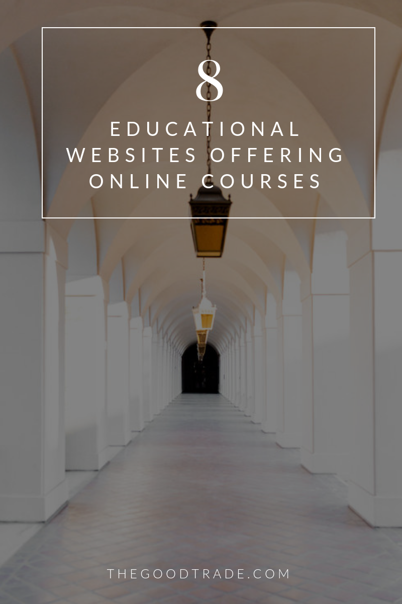 9 Educational Websites Offering Free Low Cost Online Courses Educational Websites Online Education Websites Online Courses