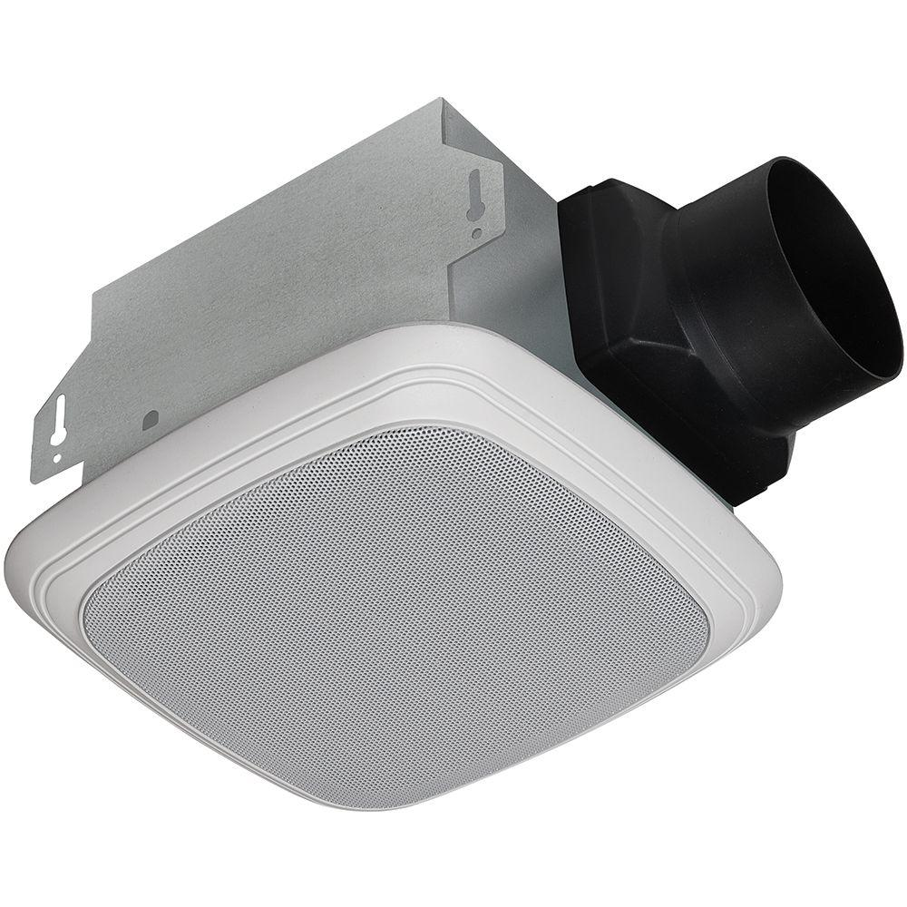 Homewerks Worldwide Decorative White 70 Cfm Bluetooth