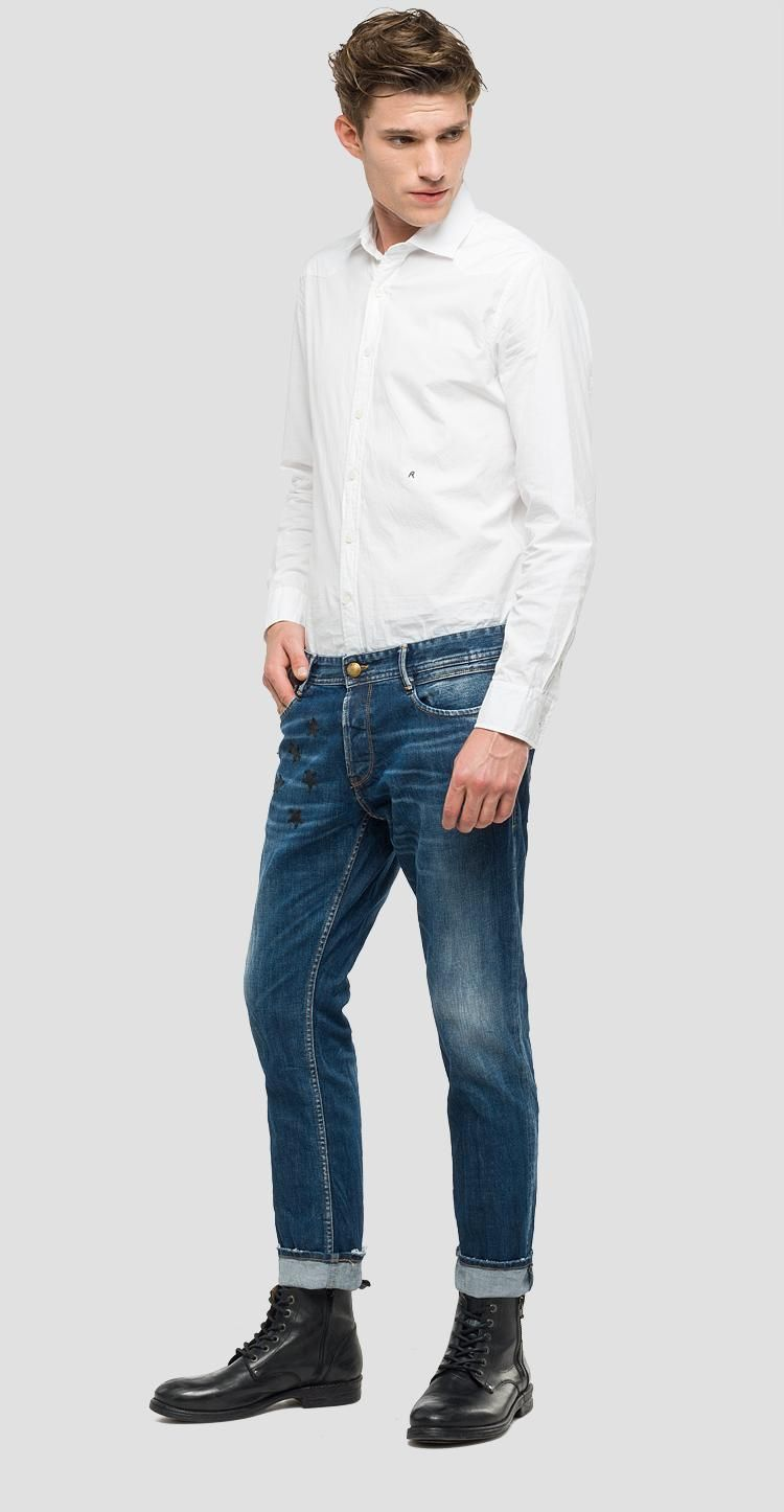 cd1d4634427 We Are Replay Arrigo slim fit jeans - We are Replay