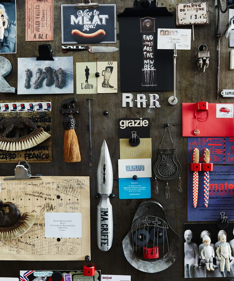 Tour a 17th-Century Paris Loft Overflowing with Vintage
