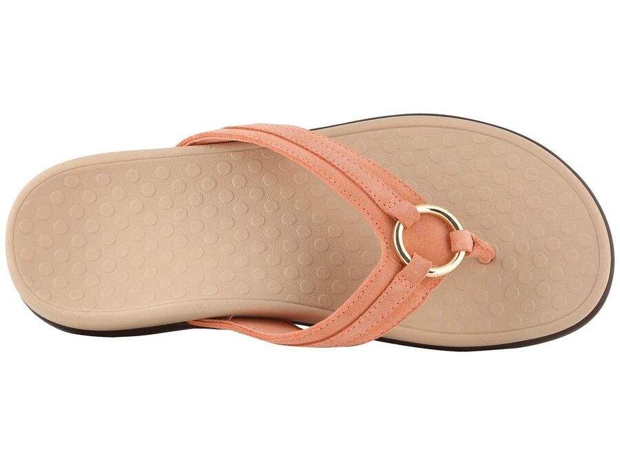 Vionic Women/'s Tide Aloe Toe-Post Sandal Flip Flop with Concealed Orthotic