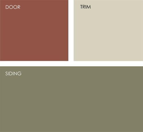 exterior house color schemes exterior home colors - Country Home Exterior Color Schemes