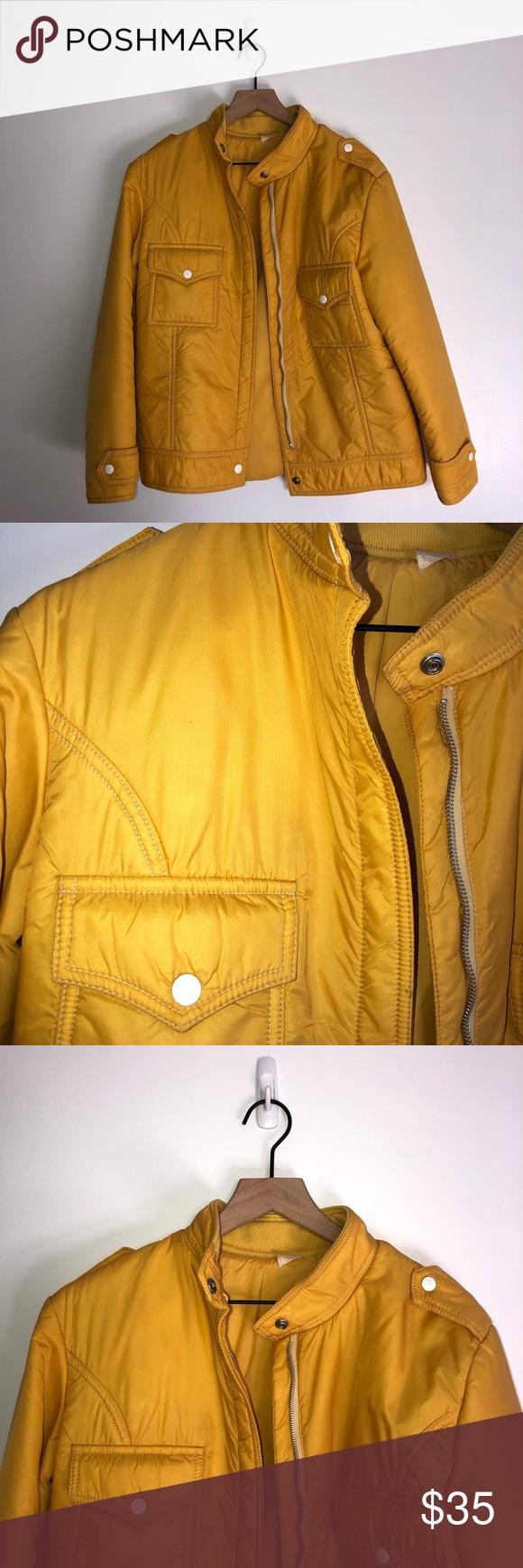 Pre Owned Vintage Yellow Jacket Vintage Jacket Vintage Yellow Jackets