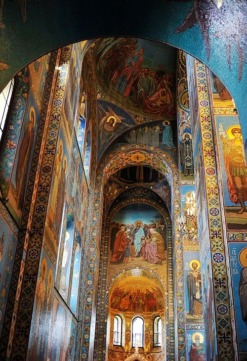 Church of the Savior on Blood, St. Petersburg, Russia ~ by anastasia_rotten List of things to do look here ~ http://www.partner.viator.com/en/435/St-Petersburg/d908-ttd