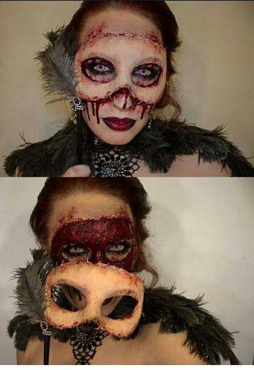 29 Jaw-Dropping Halloween Makeup Ideas | Costume makeup, Opera ...