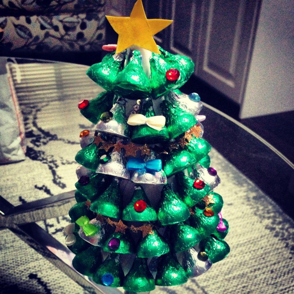 Hershey Kisses Christmas Tree   Christmas   Pinterest   Christmas ...