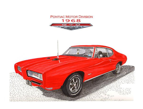 1968 Pontiac G T O By Jack Pumphrey Pontiac 1968 Pontiac Gto Pontiac Gto