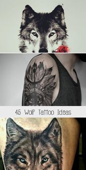 Photo of 45 Wolf Tattoo Ideas – Tattoos and Body Art  45 Wolf Tattoo Ideas #tribaltattoos…