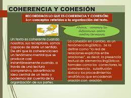 Resultado De Imagen De Cual Es La Diferencia Entre Cohesion Y Coherencia Lengua Y Literatura Coherencia Literatura