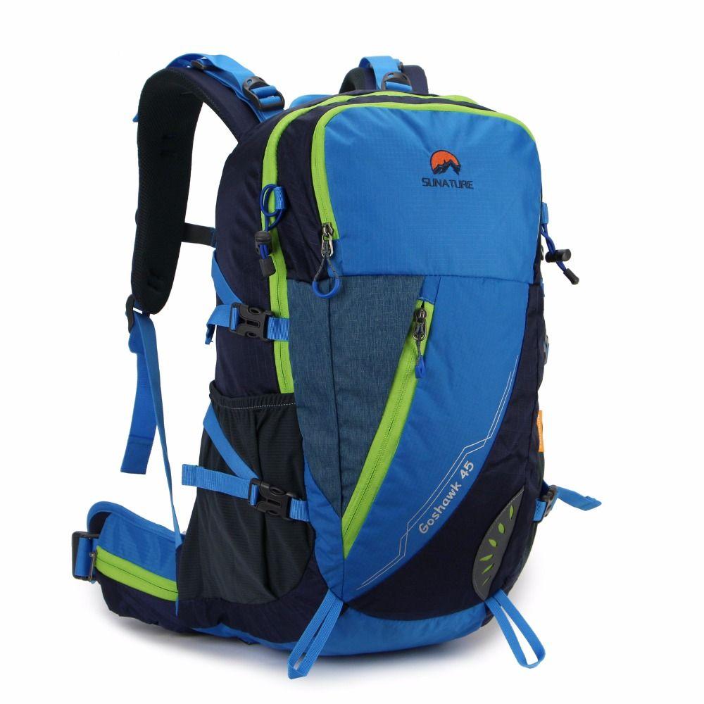 0aaaef1f2c5d Men Women's Outdoor Waterproof Sport 45L Travel Backpack Casual ...