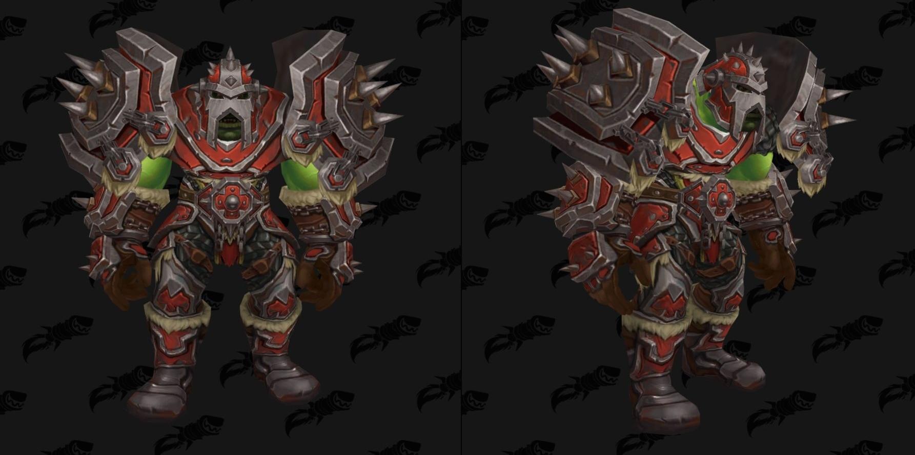 Battle For Azeroth Armor Warfronts Dark Iron Amp Zandalari