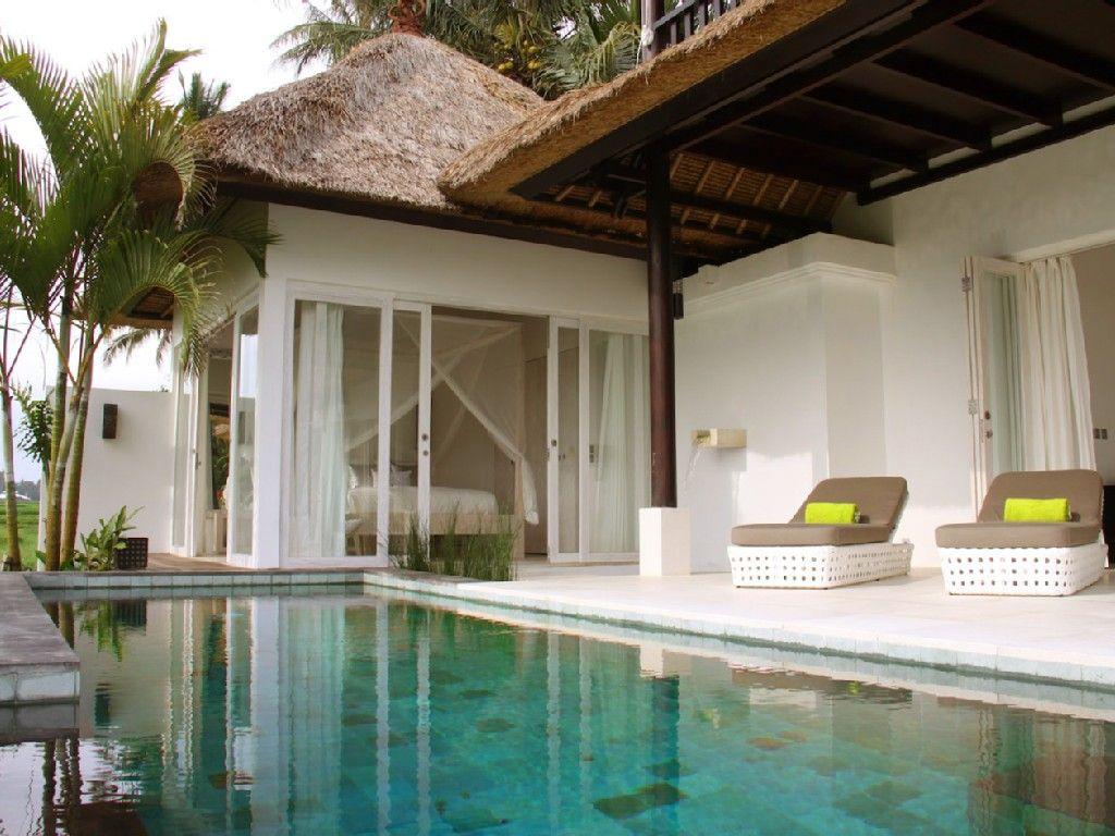 Stunning 3 Bedroom Villa In Ubud Ricefields Private Pool With Views Lodtunduh Ubud Beautiful Villas Villa Pool