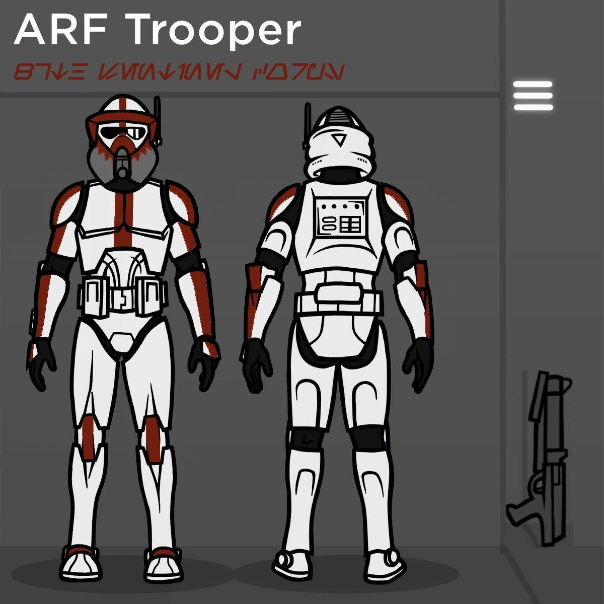 87th Arf Trooper In 2020 Star Wars Wallpaper Star Wars Painting New Star Wars