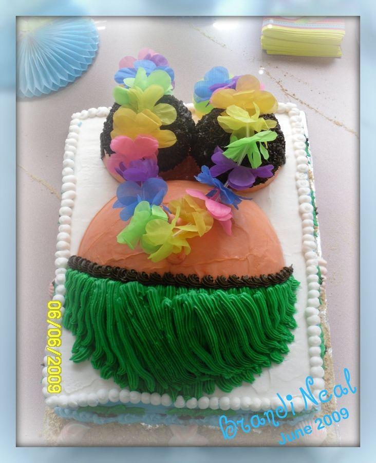 Hawaian Babyshower Cake | Hawaiian Momma U2014 Baby Shower