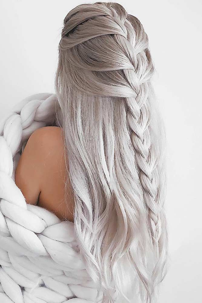 Geflochtene Frisuren für Ihre Inspiration Mohawk #braids #mohawk - FİTNESS WORKOUTS #hair
