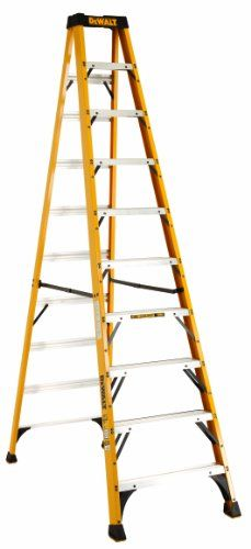 Buy Dewalt Dxl3010 10 10 Feet Fiberglass Stepladder Type Ia With 300 Pound Duty Rating 10 Feet Color May Vary Reviews Step Ladders Dewalt Amazing Bathrooms