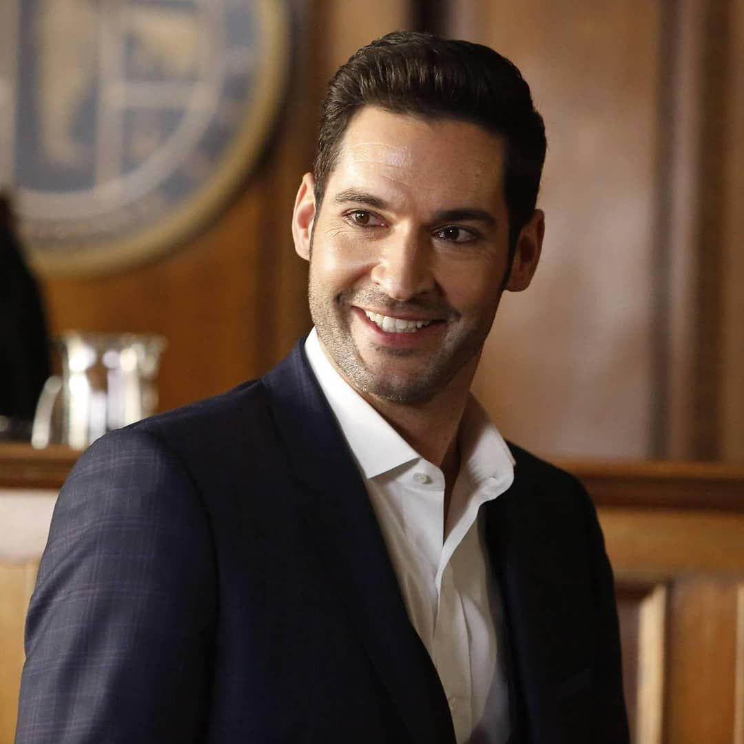 Confident Smile Tomellis Lucifer Wesavedlucifer