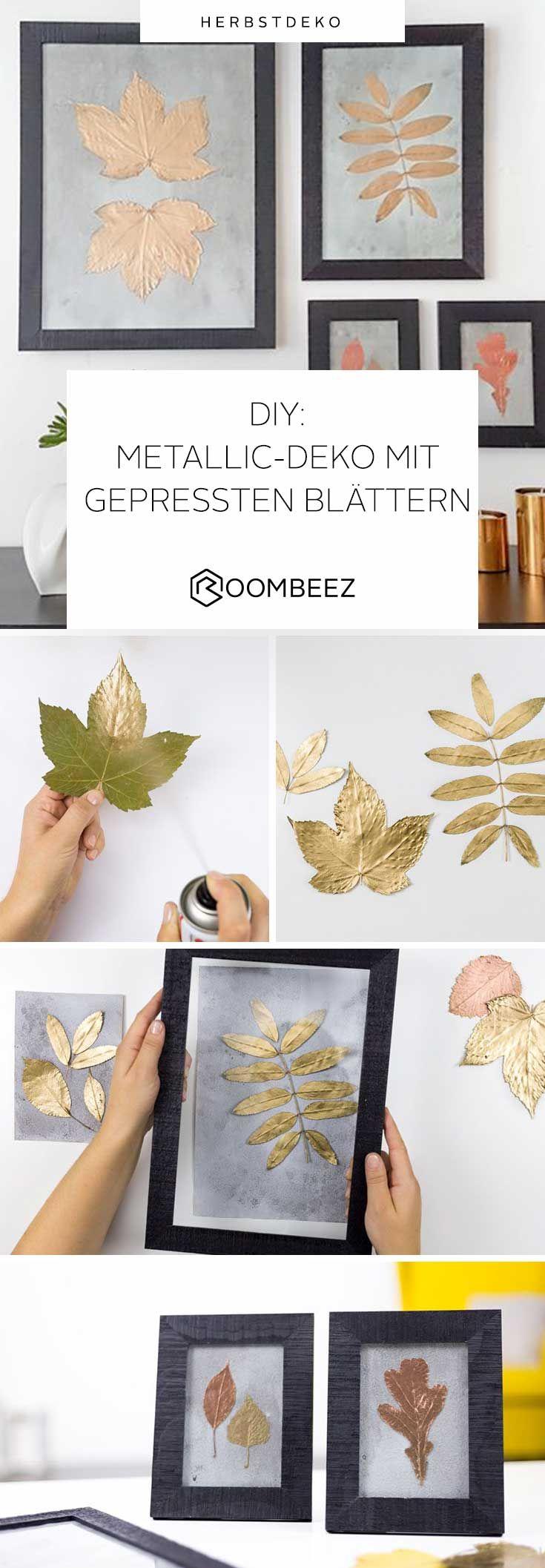 ▷ DIY: Basteln mit Blättern ◁