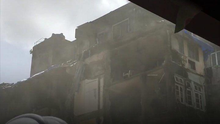 Mumbai Building Collapse Kills 33 Collapse Building Mumbai